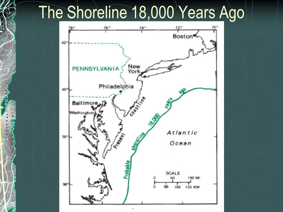 The Shoreline 18,000 Years Ago