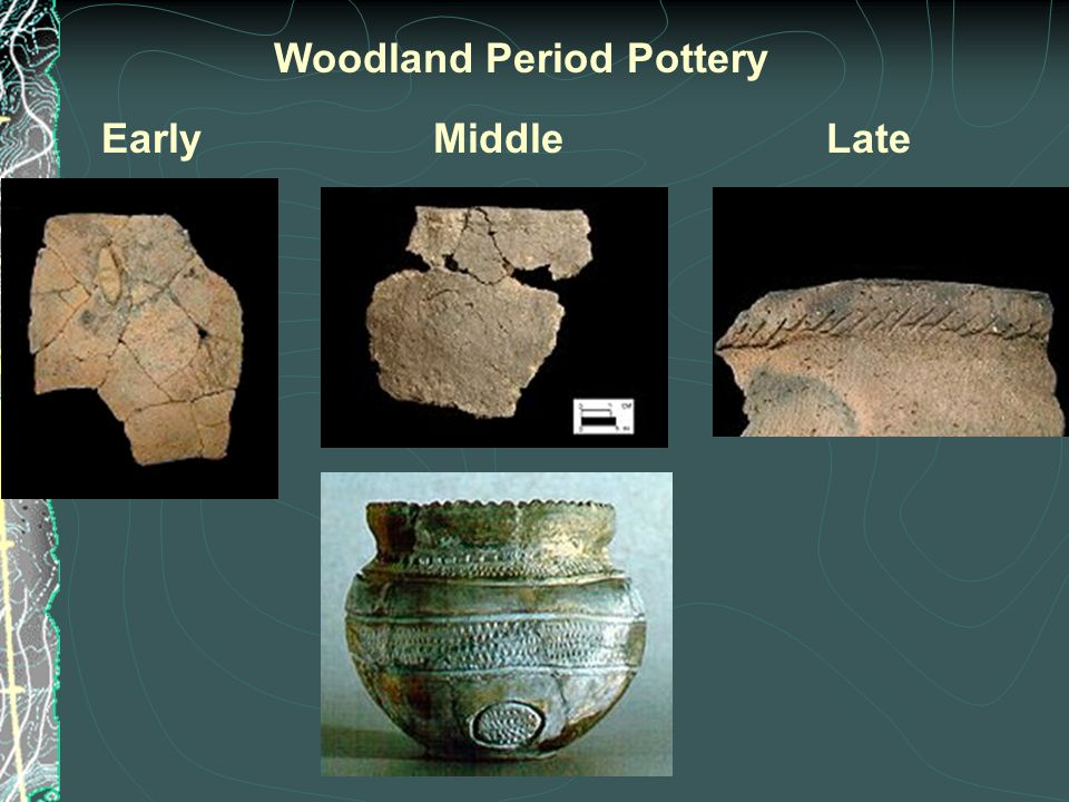 EarlyMiddleLate Woodland Period Pottery
