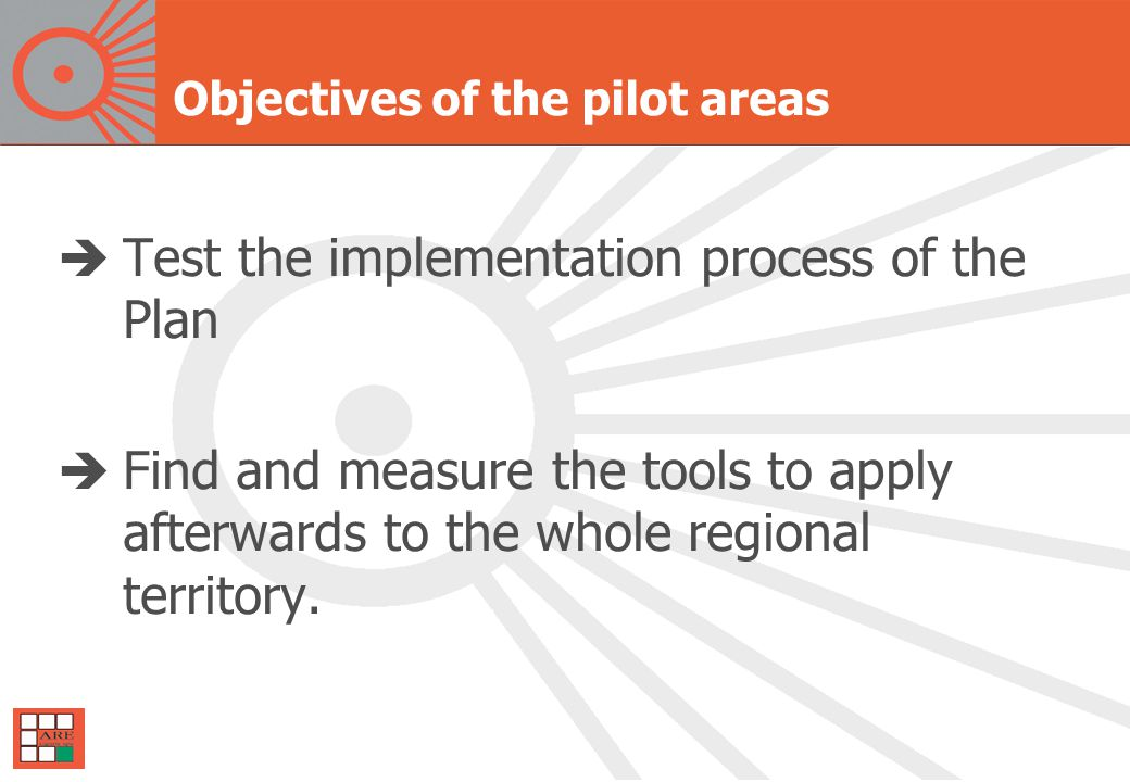 5.What we have done practically Pilot areas for wooden biomass: where.