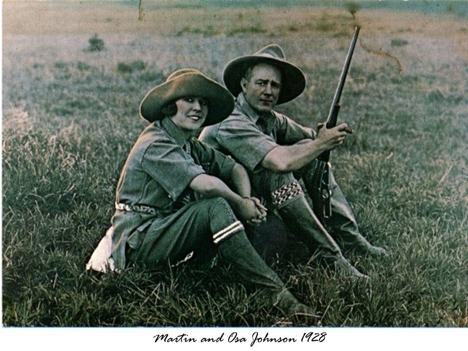 Martin and Osa Johnson 1928