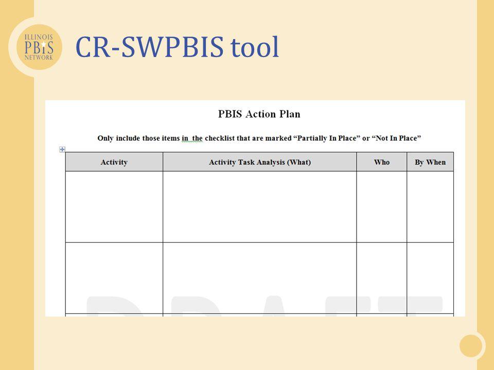CR-SWPBIS tool