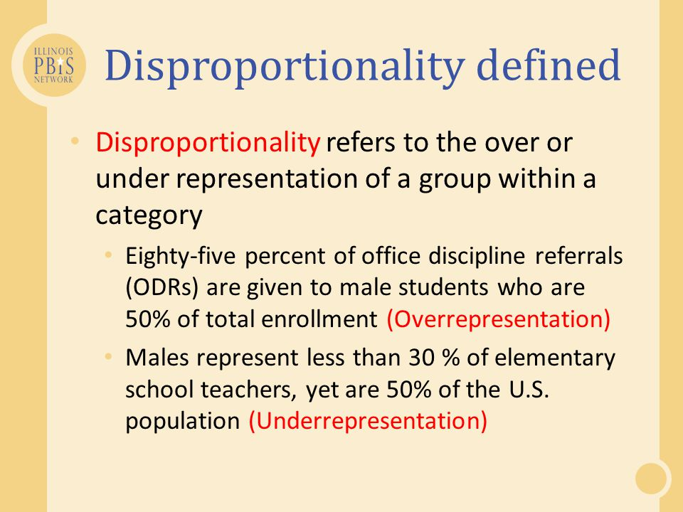 Disproportionality in the news