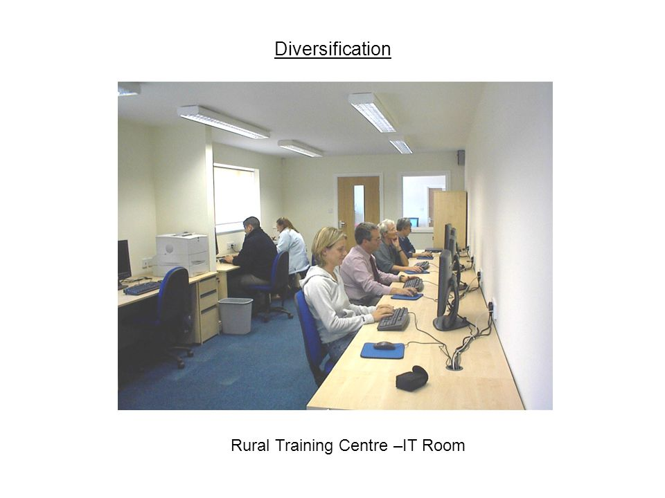 Diversification Rural Training Centre –IT Room