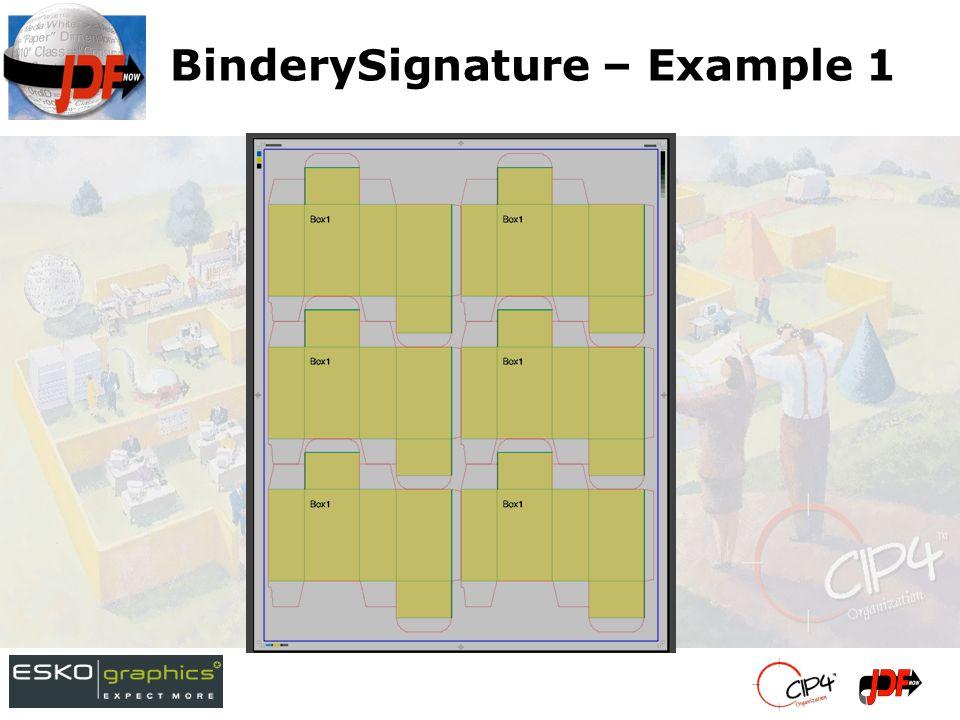BinderySignature – Example 1