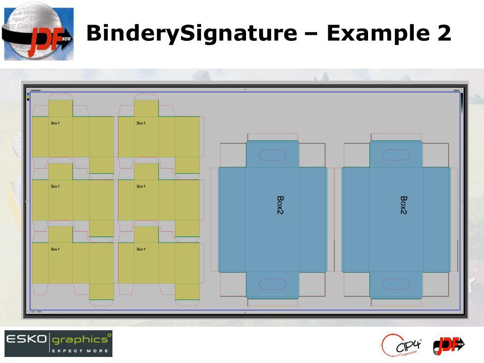 BinderySignature – Example 2