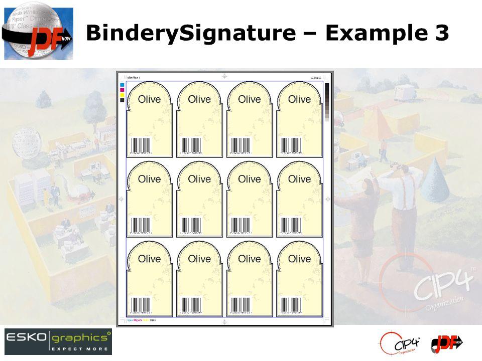 BinderySignature – Example 3