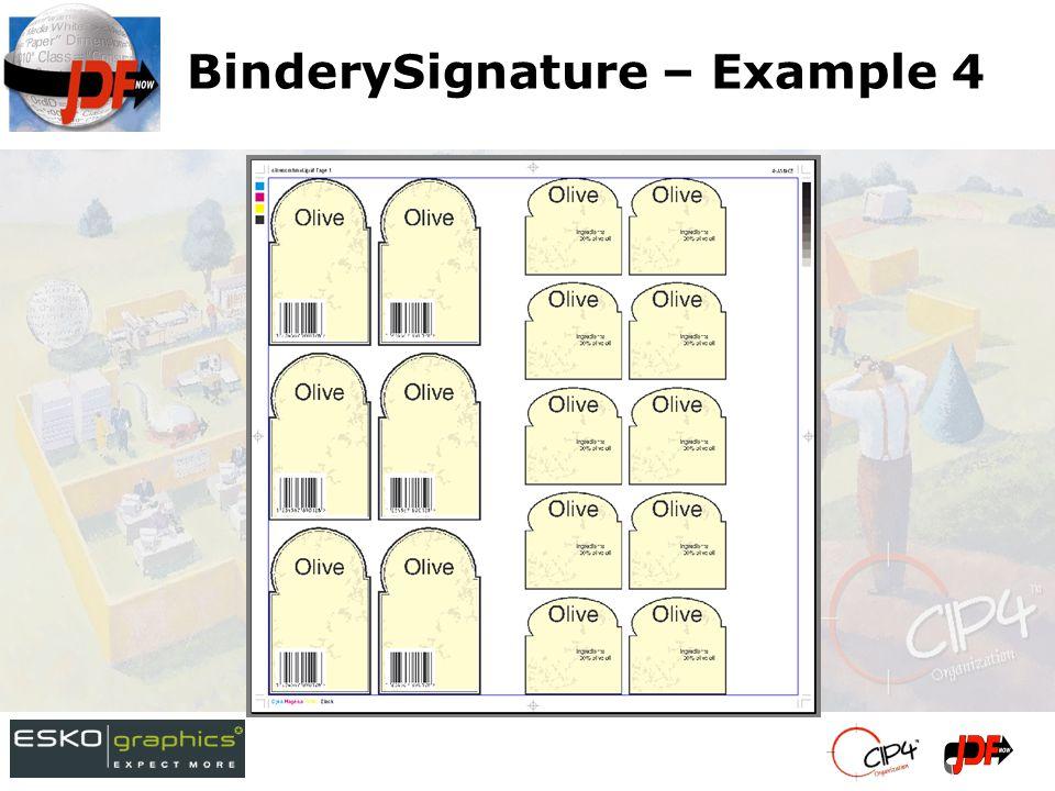 BinderySignature – Example 4