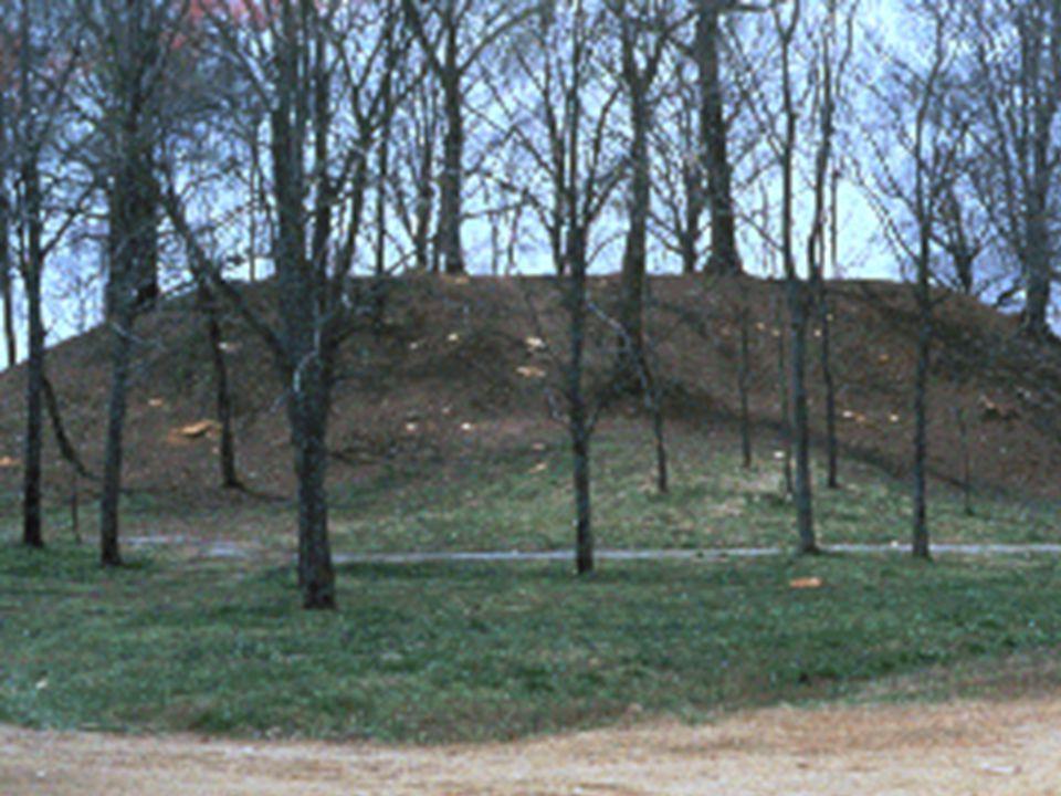 Earthen mounds and walls