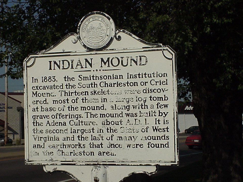 Creil Mound, South Charleston, Kanawha County