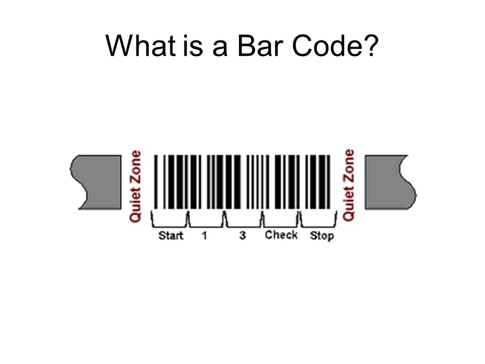 What is a Bar Code