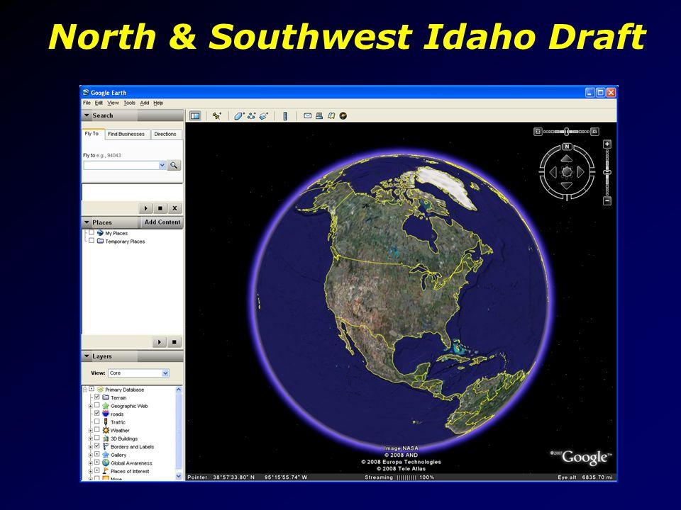 North & Southwest Idaho Draft