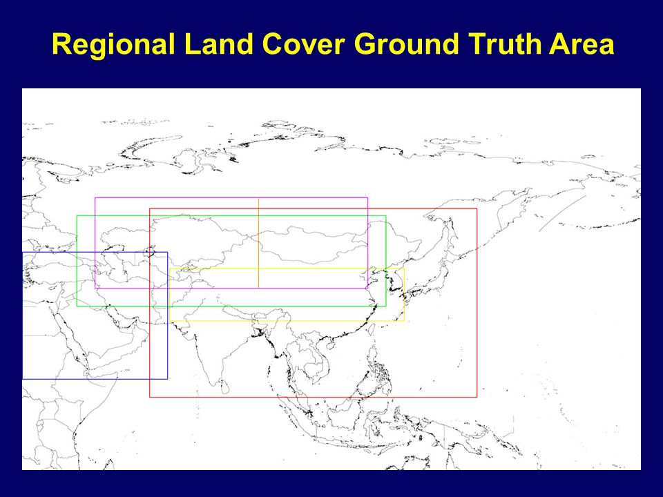 Regional Land Cover Ground Truth Area