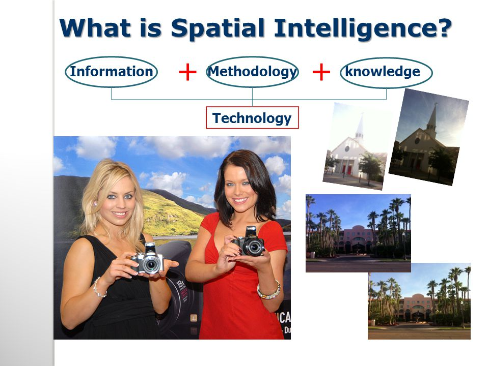 What is Spatial Intelligence? Information + Methodology + knowledge Technology