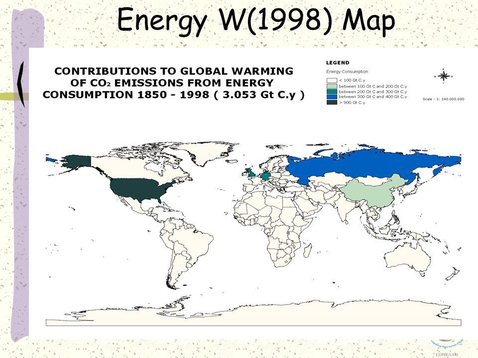 Energy W(1998) Map