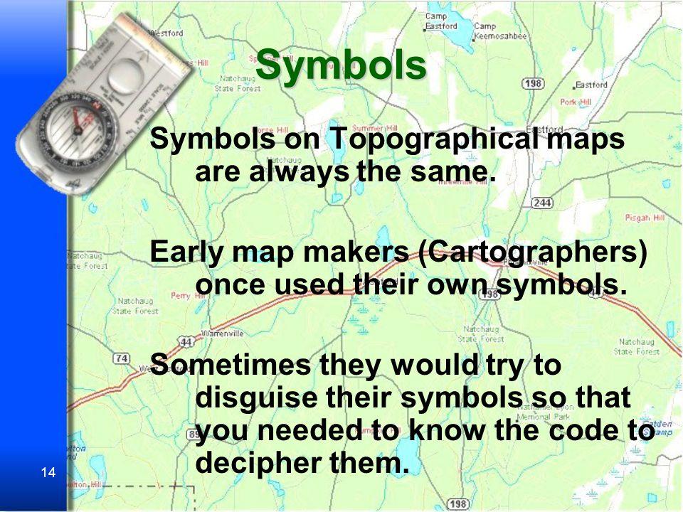 13 How do you make a map make sense.
