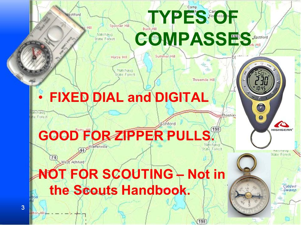 2 Why Would the Boy Scouts Teach the Use of Map and Compass.