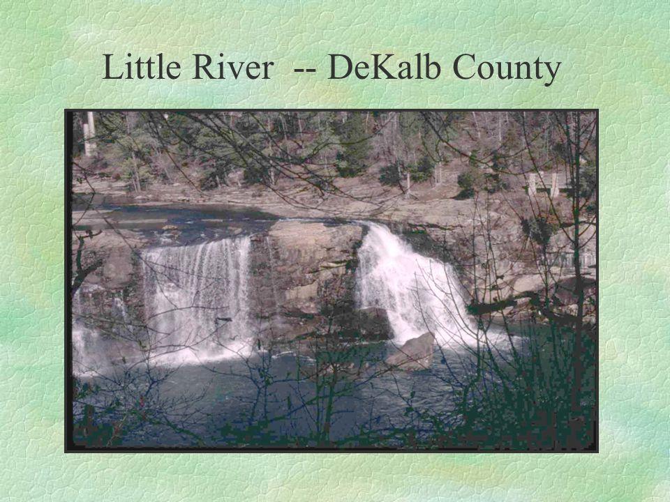 Little River -- DeKalb County