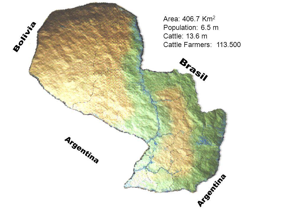 Area: 406.7 Km 2 Population: 6.5 m Cattle: 13.6 m Cattle Farmers: 113.500