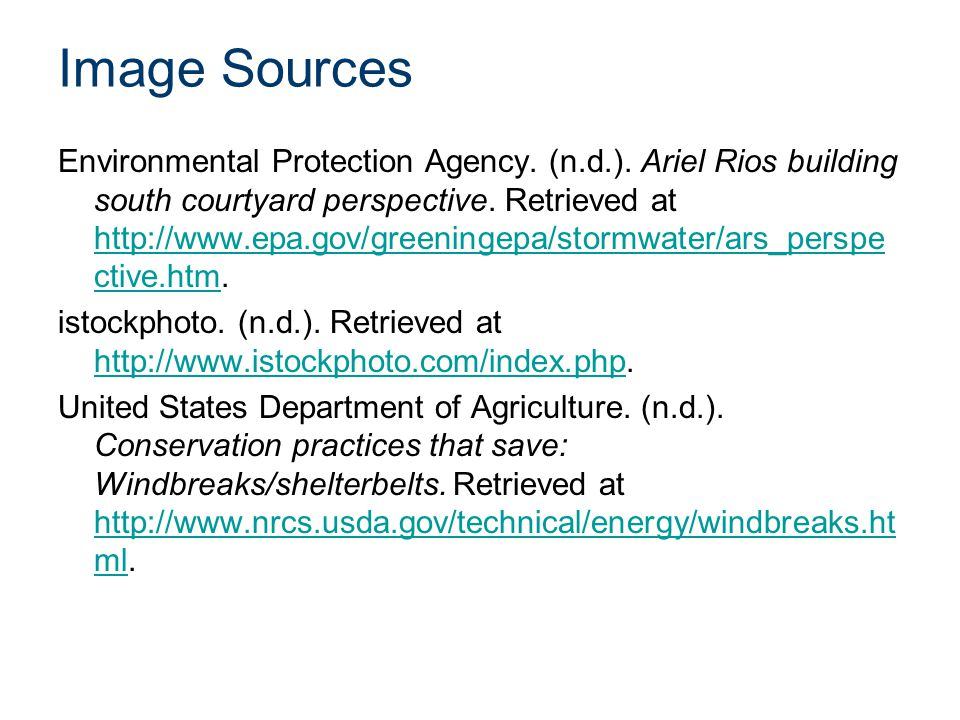 Image Sources Environmental Protection Agency.(n.d.).
