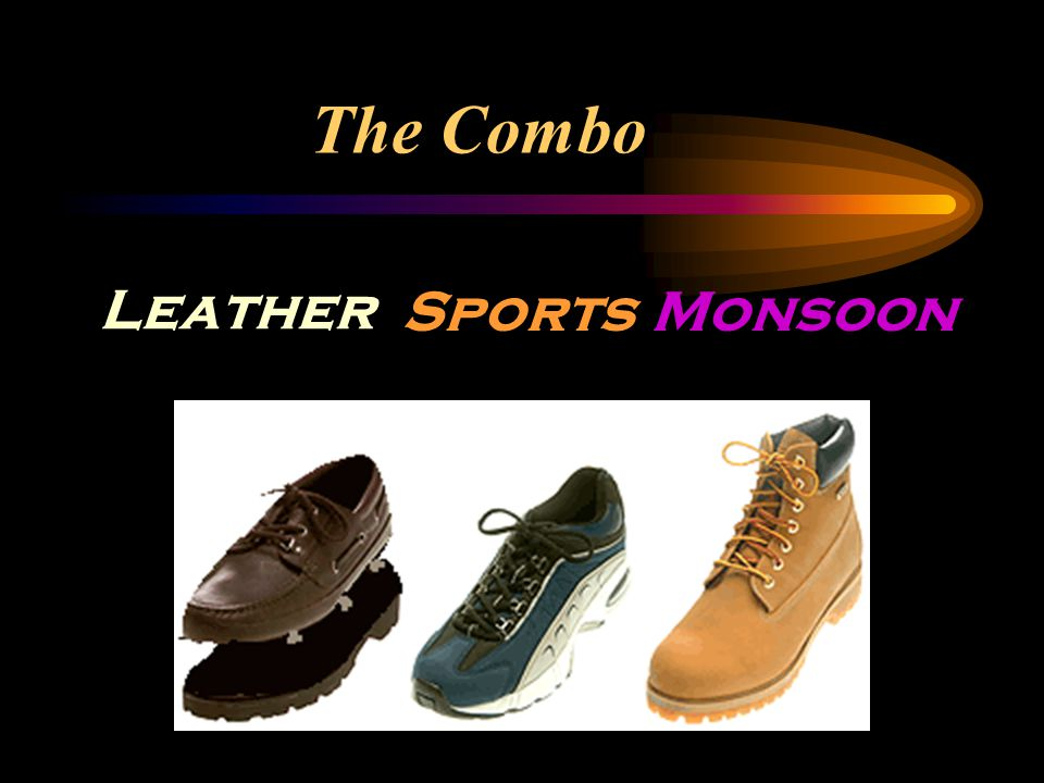 The Combo Leather SportsMonsoon