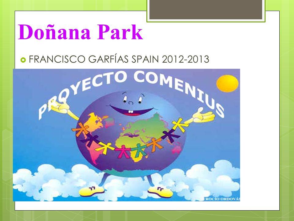 Doñana Park  FRANCISCO GARFÍAS SPAIN 2012-2013