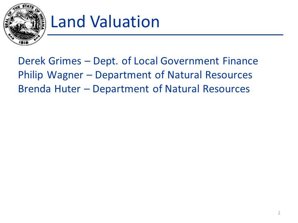 Land IC 6-1.1-4-13 Agricultural land; assessment Sec.