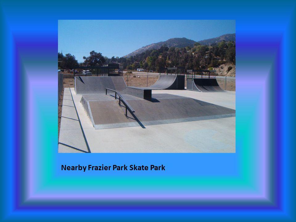 Nearby Frazier Park Skate Park