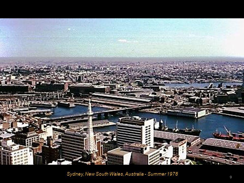 Sydney, New South Wales, Australia - Summer 1978 8