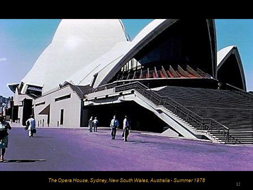 The Harbour Bridge, Sydney, New South Wales, Australia - Summer 1978 11