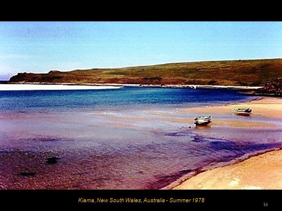 Kiama, New South Wales, Australia - Summer 1978 15