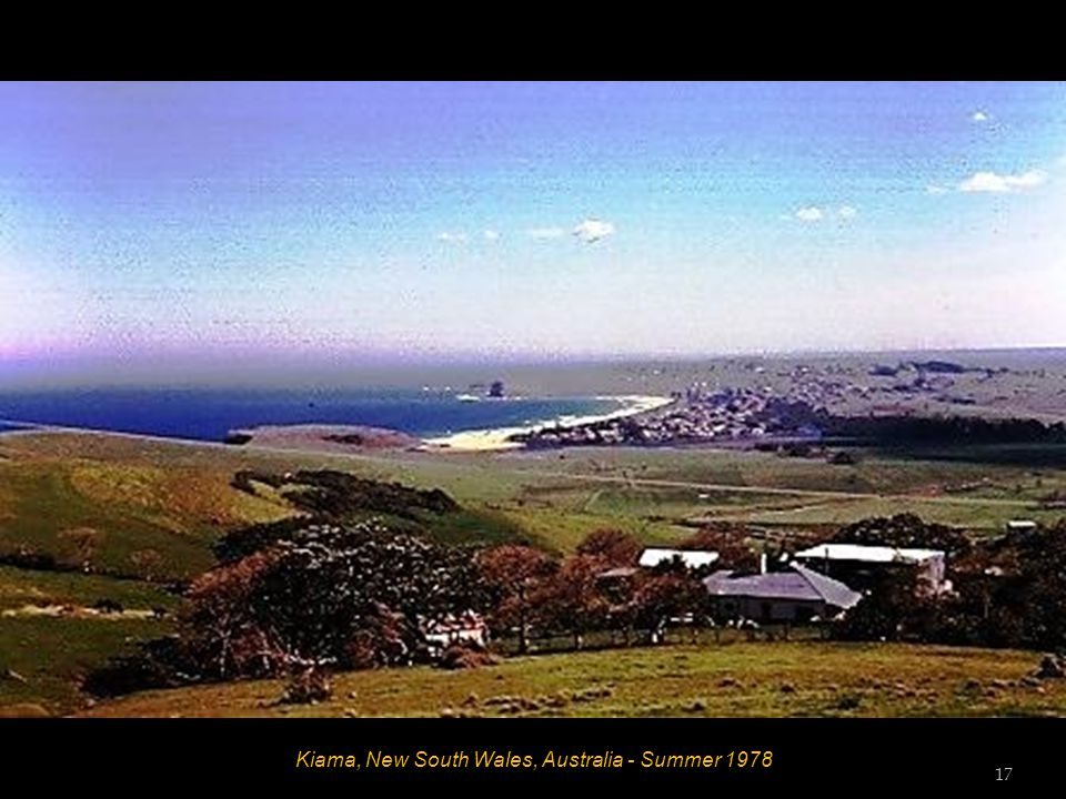 Kiama, New South Wales, Australia - Summer 1978 16