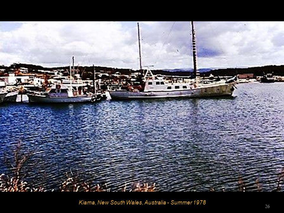 Kiama, New South Wales, Australia - Summer 1978 Sid 25