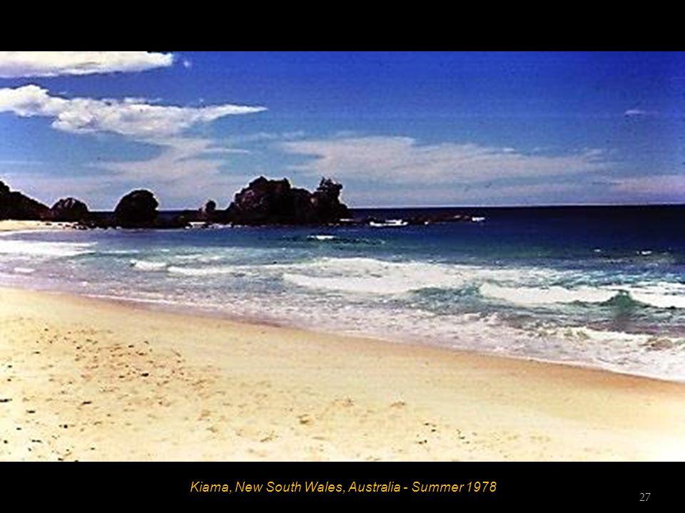 Kiama, New South Wales, Australia - Summer 1978 26