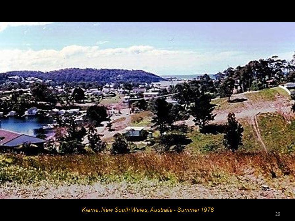Kiama, New South Wales, Australia - Summer 1978 27