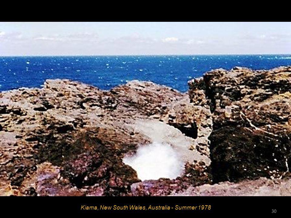 Kiama, New South Wales, Australia - Summer 1978 29