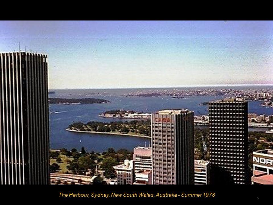 The Harbour Bridge, Sydney, New South Wales, Australia - Summer 1978 6