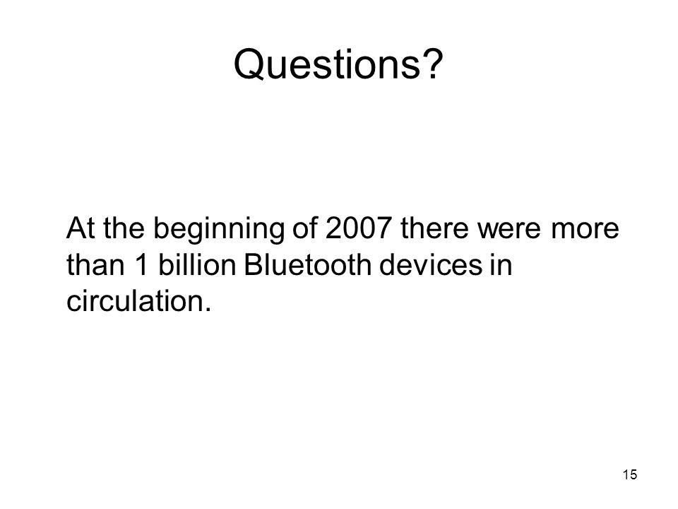 15 Questions.