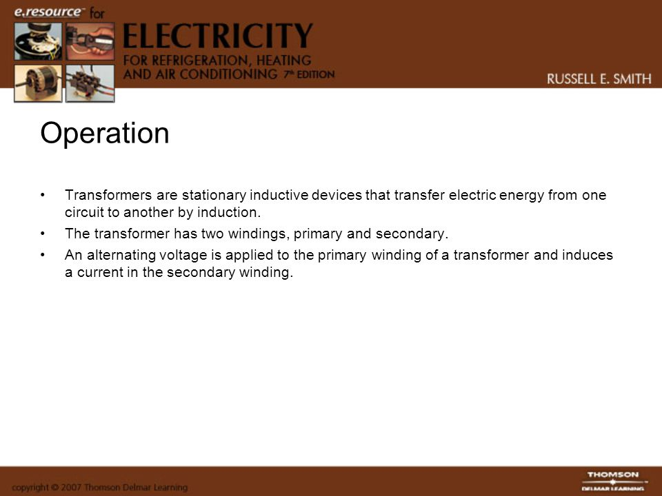 Sizing Transformers Transformers are like many other electrical components.