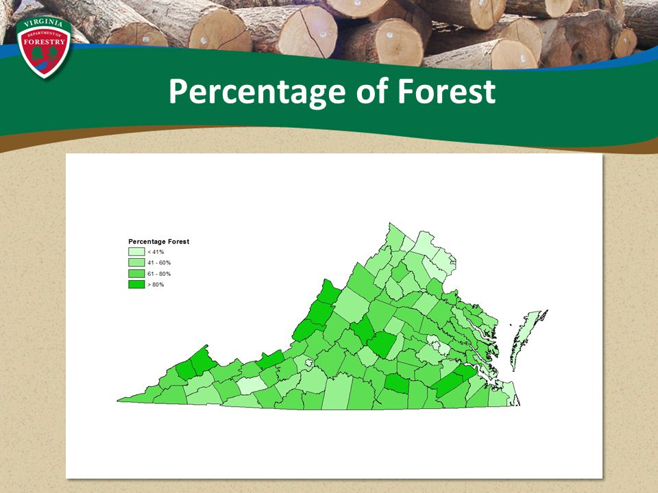 Percentage of Forest