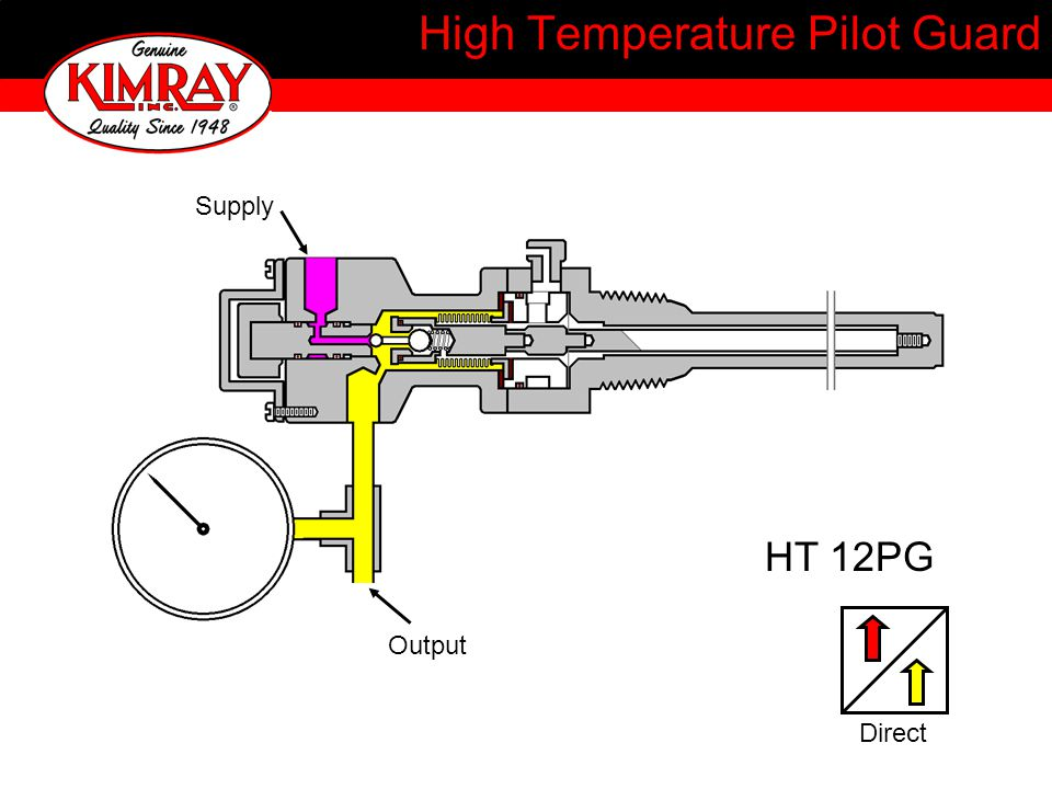 High Temperature Pilot Guard HT 12PG Output Supply Direct