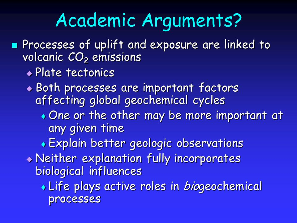 Academic Arguments.