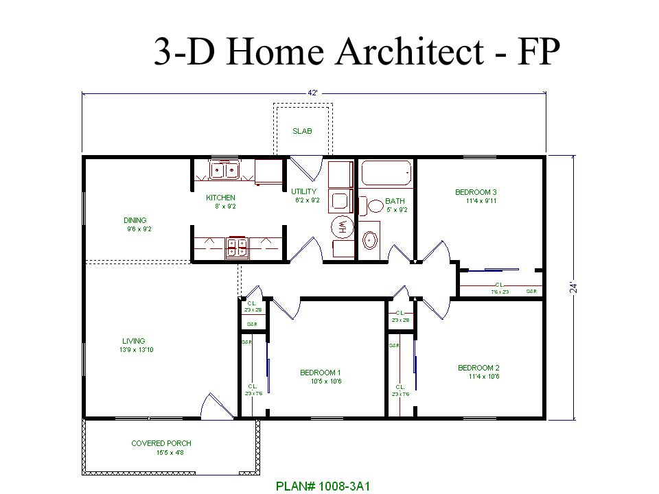 3-D Home Architect - FP