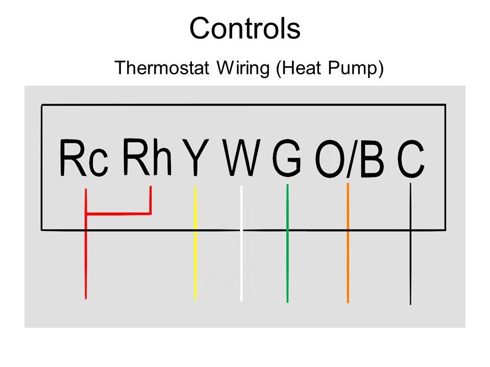 Controls Thermostat Wiring (Heat Pump)