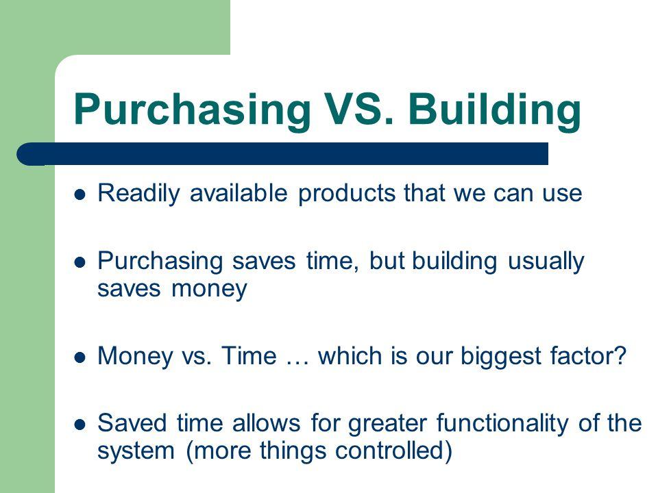 Purchasing VS.