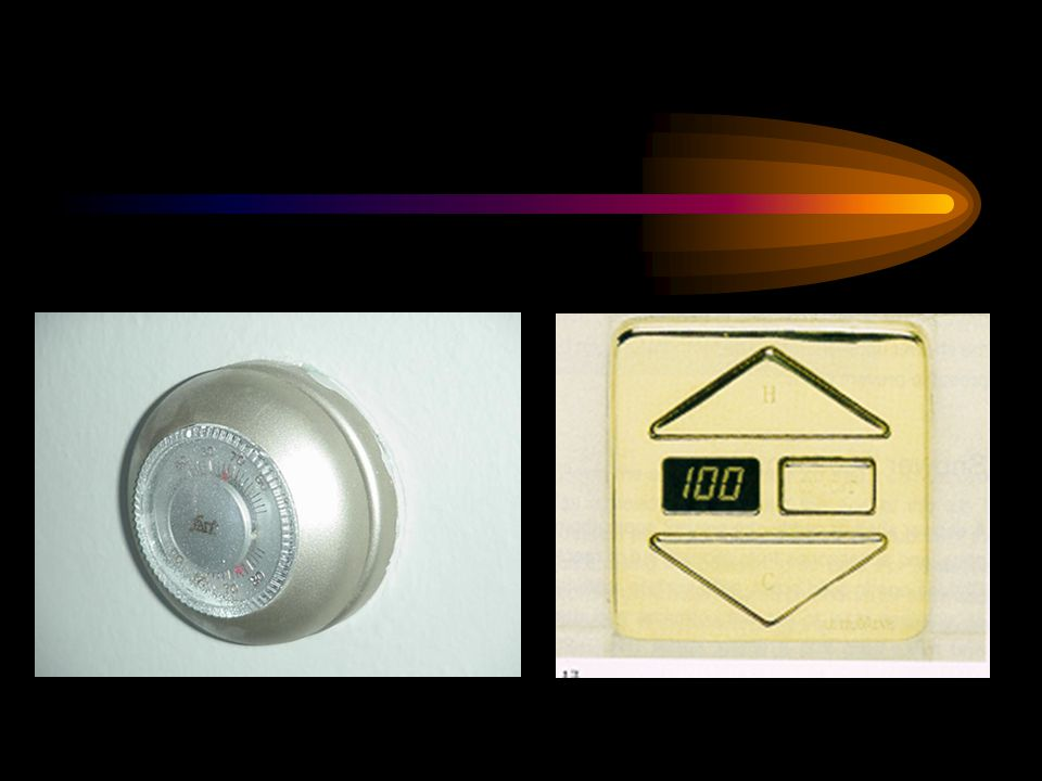 Thermostat Replacement Controls - Select controls with easy movement and no pinching, gripping, etc.