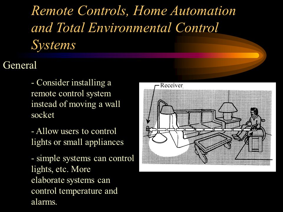 Security Systems Mounting Height - Try to mount the control panel for a security system less than 48 inches from the floor, to be accessible to most p