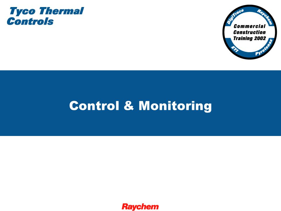 2 Control and Monitoring for the Commercial Construction Industry FWT-3