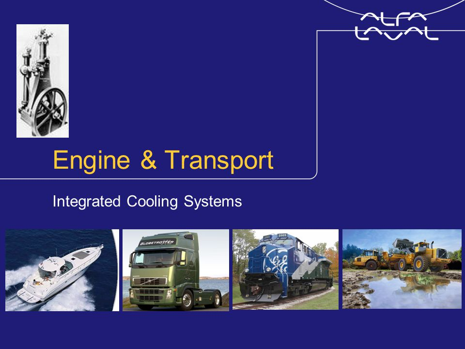 Engine & Transport Integrated Cooling Systems