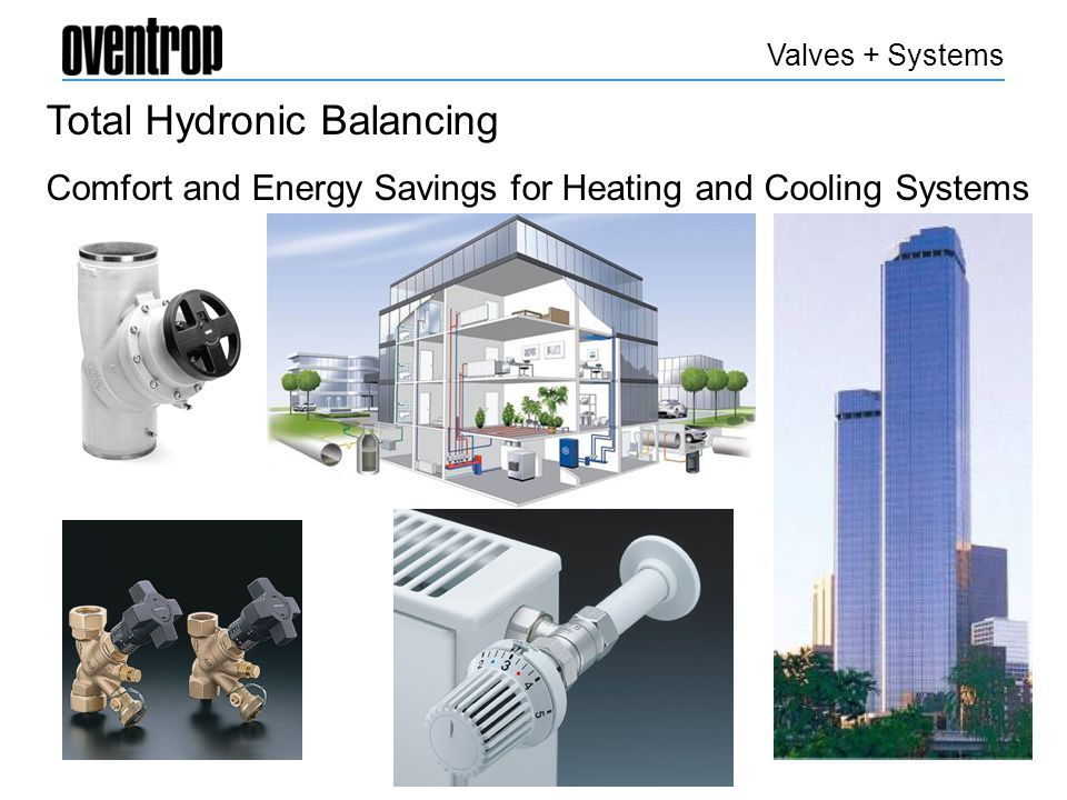 Application Guides Balancing Valves Thermostatic Radiator Valves German Engineered Quality and Value Distribution Stations Diverting and Mixing Valves Electrothermal Actuators Non Electric Actuators Pressure Activated Bypass Zone Valves Valves + Systems