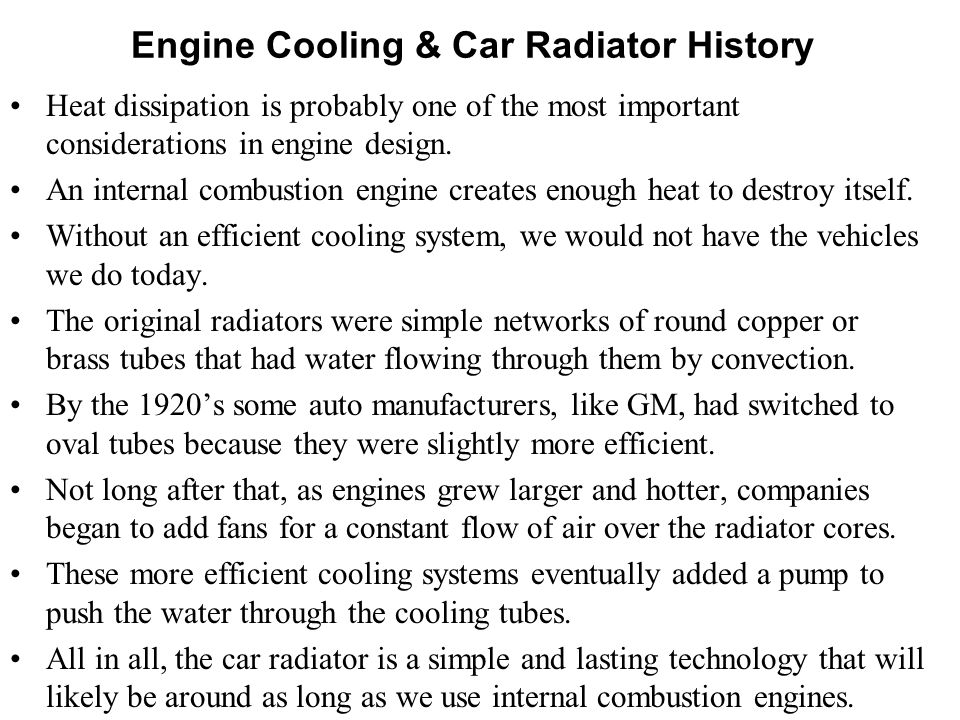 ENGINE HEAT TRANSFER P M V Subbarao Professor Mechanical Engineering Department Loss of Heat is encouraged only to keep engine safe…. It's a penalty o